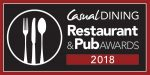 Casual Dining Restaurant & Pub Awards 2018 logo