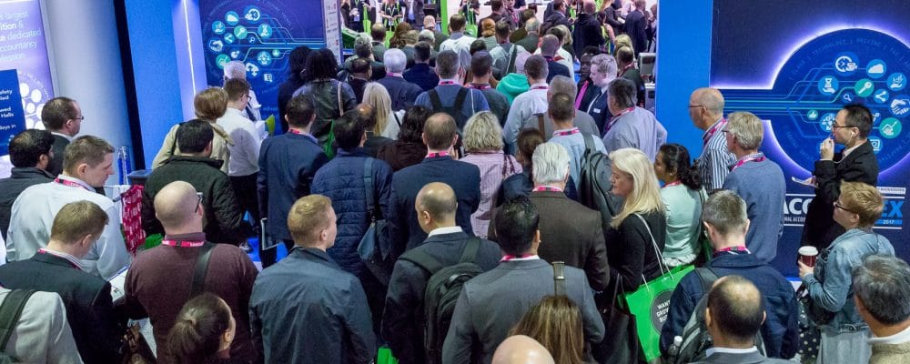 Accountex 2018: Visitor registration off to a flying start