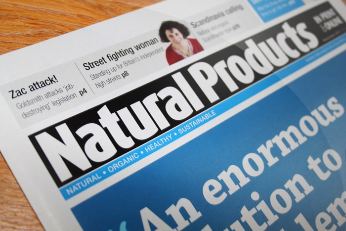 Natural Products magazine