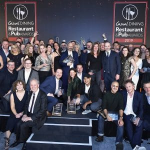 Casual Dining Restaurant & Pub Awards 2019 winners